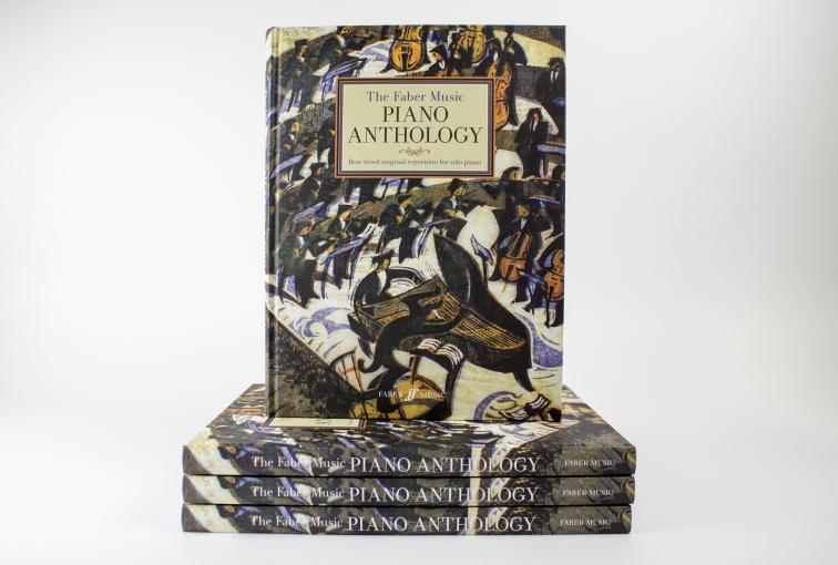 A selection of 78 piano favourites from Grades 2-8 level, bound in a beautiful hardback gift book, get your copy here: http://www.fabermusicstore.com/The-Faber-Music-Piano-Anthology-0571539572.aspx